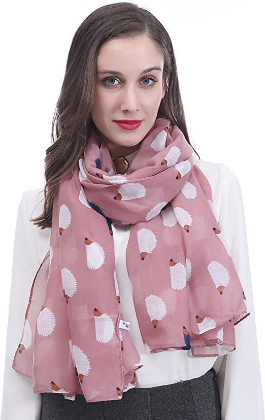 LADY WOMEN FASHION STYLE BIG FLOWER SCARF SHAWL DIFFERENT COLORS Polyester