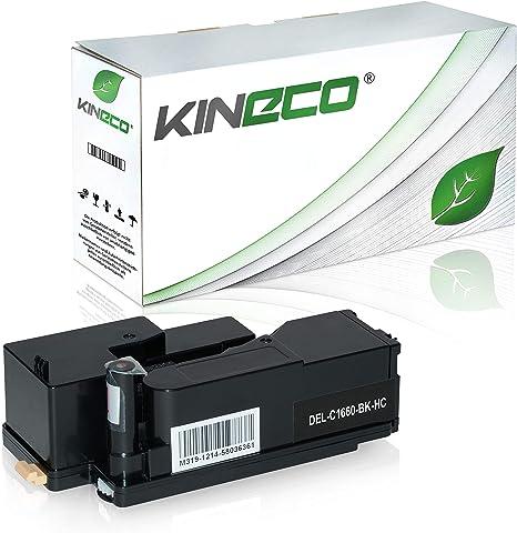 Toner Kompatibel Mit Dell C1660w 59311130 Schwarz 1 250 Seiten Bürobedarf Schreibwaren