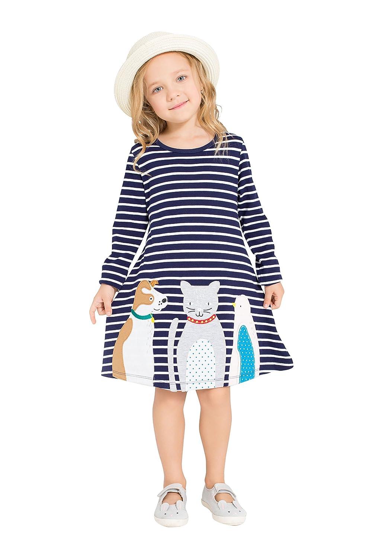 【アウトレット☆送料無料】 Gorboig Gorboig DRESS ベビーガールズ 3-4 Years Deep Blue Striped Deep Striped B074WB3ZZ5, 洛齊コレクション:1f538ca3 --- arianechie.dominiotemporario.com