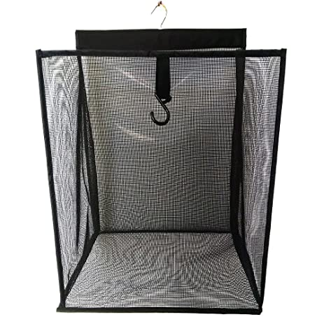 ALYER Hanging Foldable Mesh Laundry Hamper,Large Capacity Door Hanging  Laundry Basket And Durable