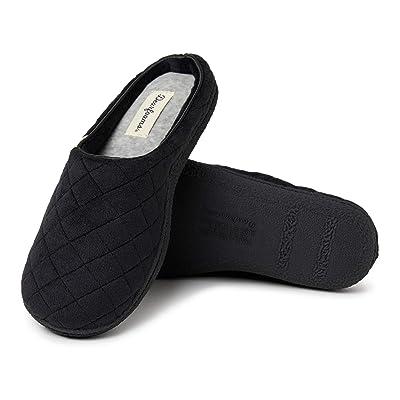 Amazon.com | Dearfoams Women's Velour Clog Slipper | Mules & Clogs