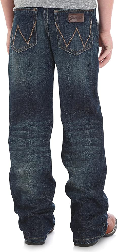 Wrangler Boys/' Retro Relaxed Fit Boot Cut Jeans