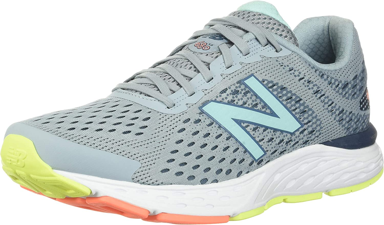 New Balance Womens 680v6 Cushioning Running Shoe: Amazon.es: Zapatos y complementos