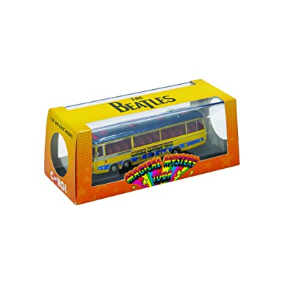 Corgi CC42418 The Beatles Magical Mystery Tour Bus 1:76 Scale Die-Cast Model, Yellow/Blue: Toys & Games