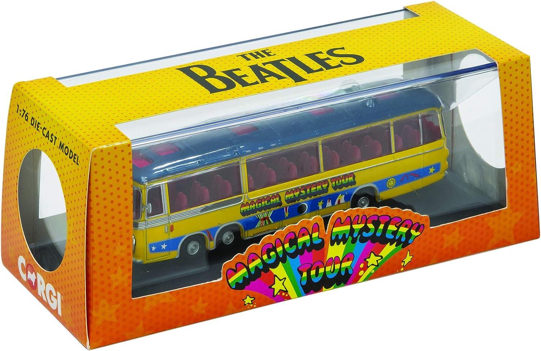 CORGI CC42418-1//76 MAGICAL MYSTERY TOUR BUS THE BEATLES