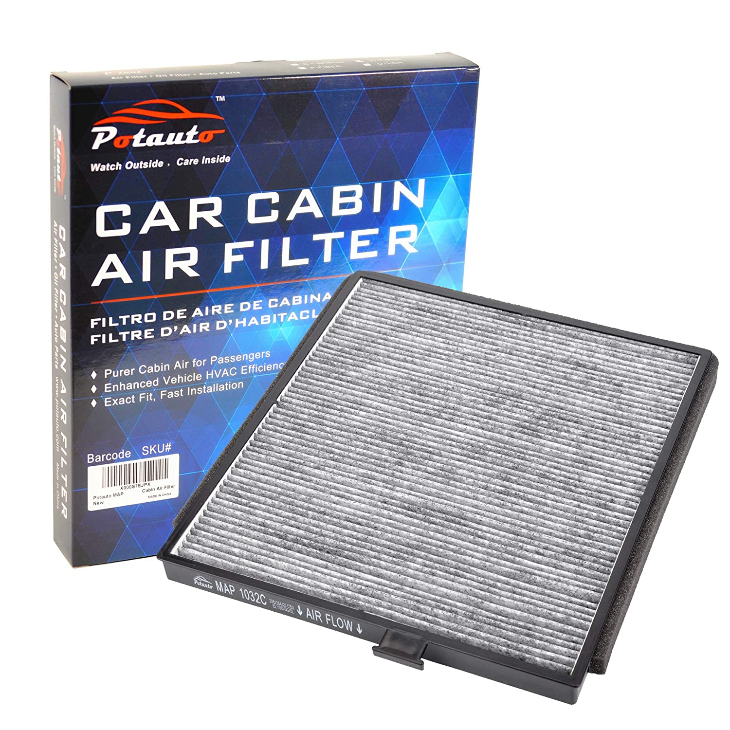 CF8813A Pilot HONDA MDX Odyssey Replacement High Performance Car Cabin Air Filter for ACURA POTAUTO MAP 1032W