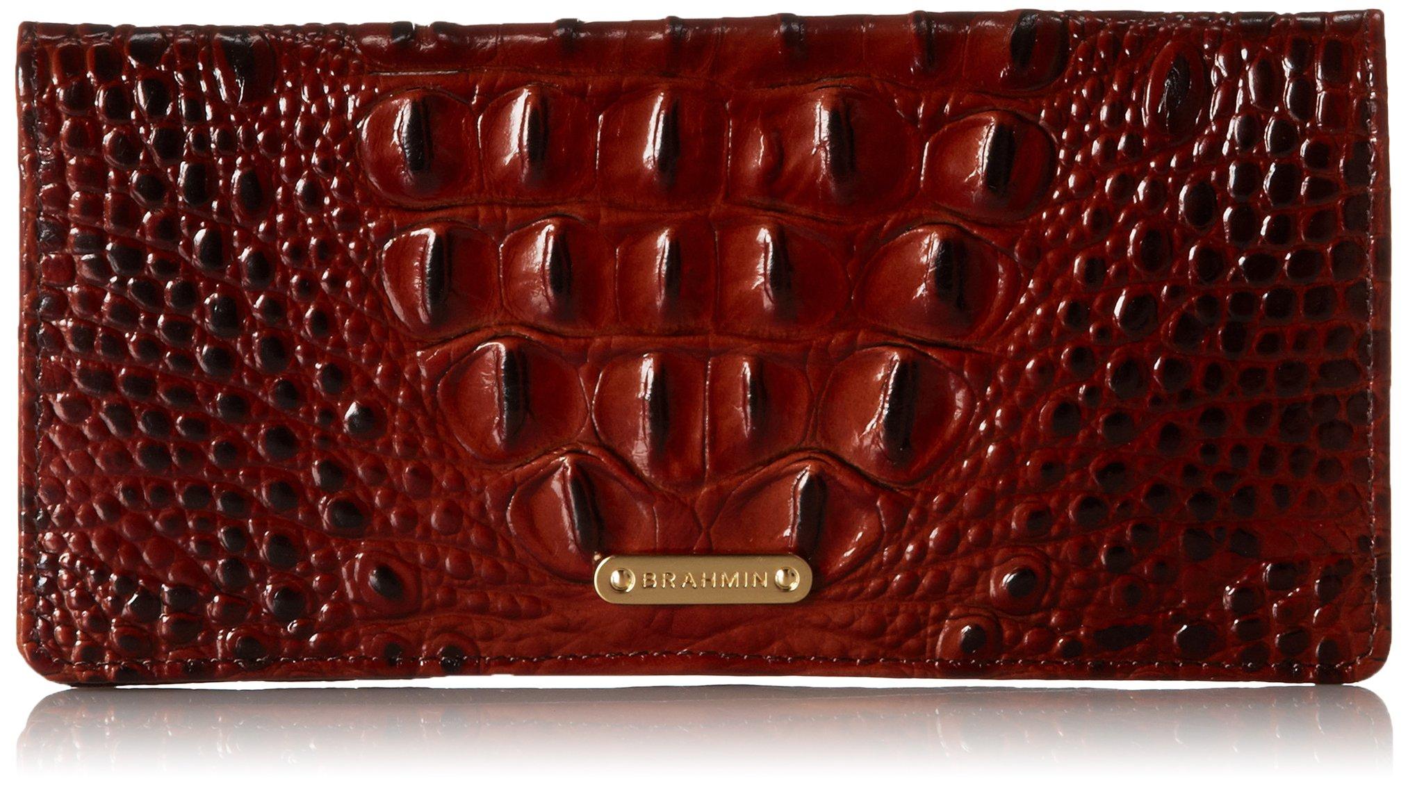 Brahmin Ady Wallet, Pecan, One Size