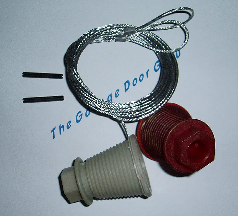 Canopy garage door kit - Delicate Full Repair Kit Cables Rollers Garage Door Spares Parts To Suit Henderson Pre
