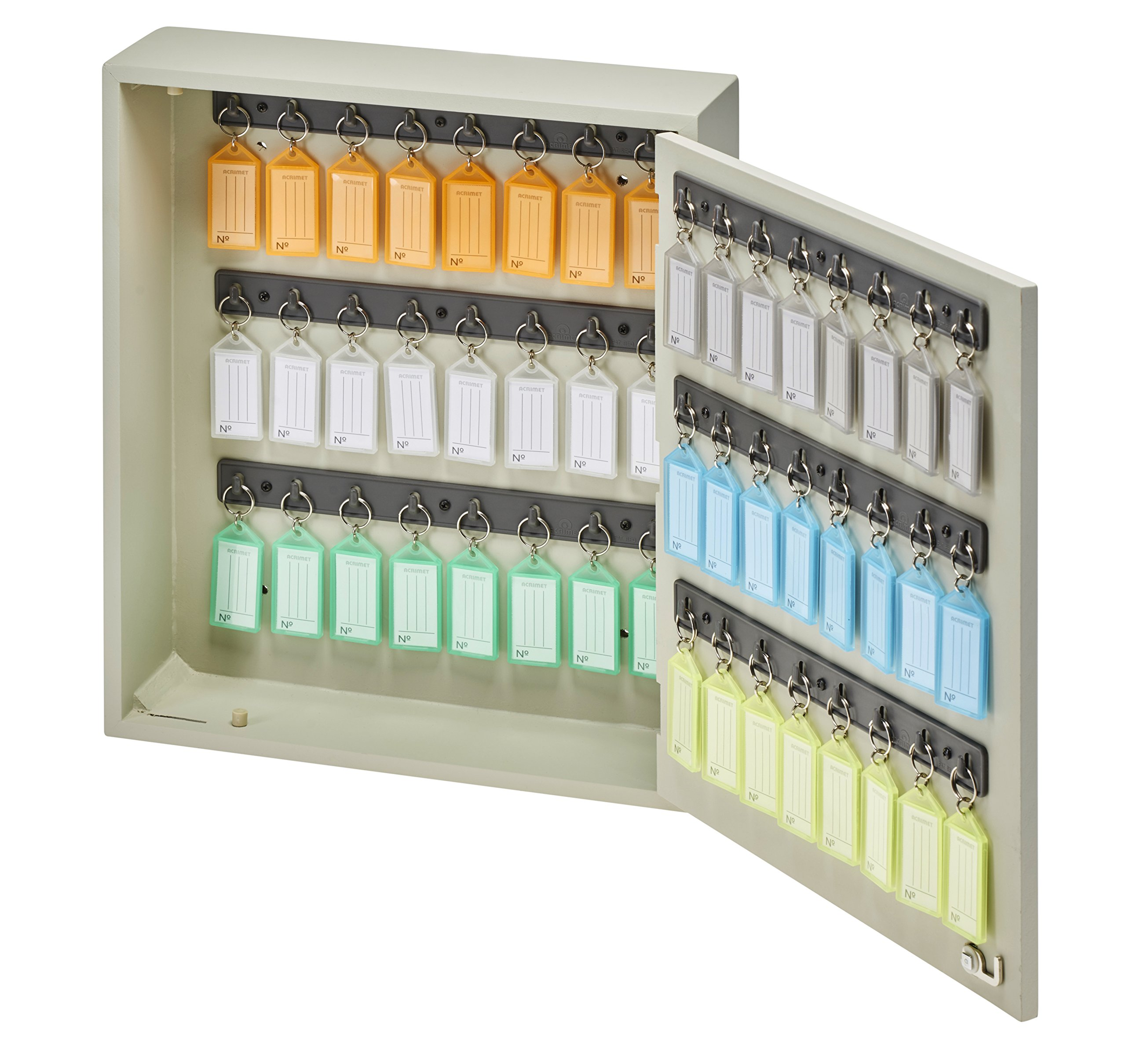 Acrimet Key Cabinet, 48 Positions, with 48 Key Tags