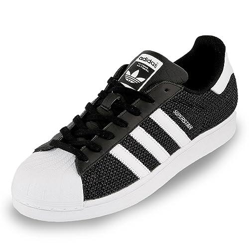 Adidas Superstar Schuhe core black-running white-running white - 47 1/3: Amazon.es: Zapatos y complementos