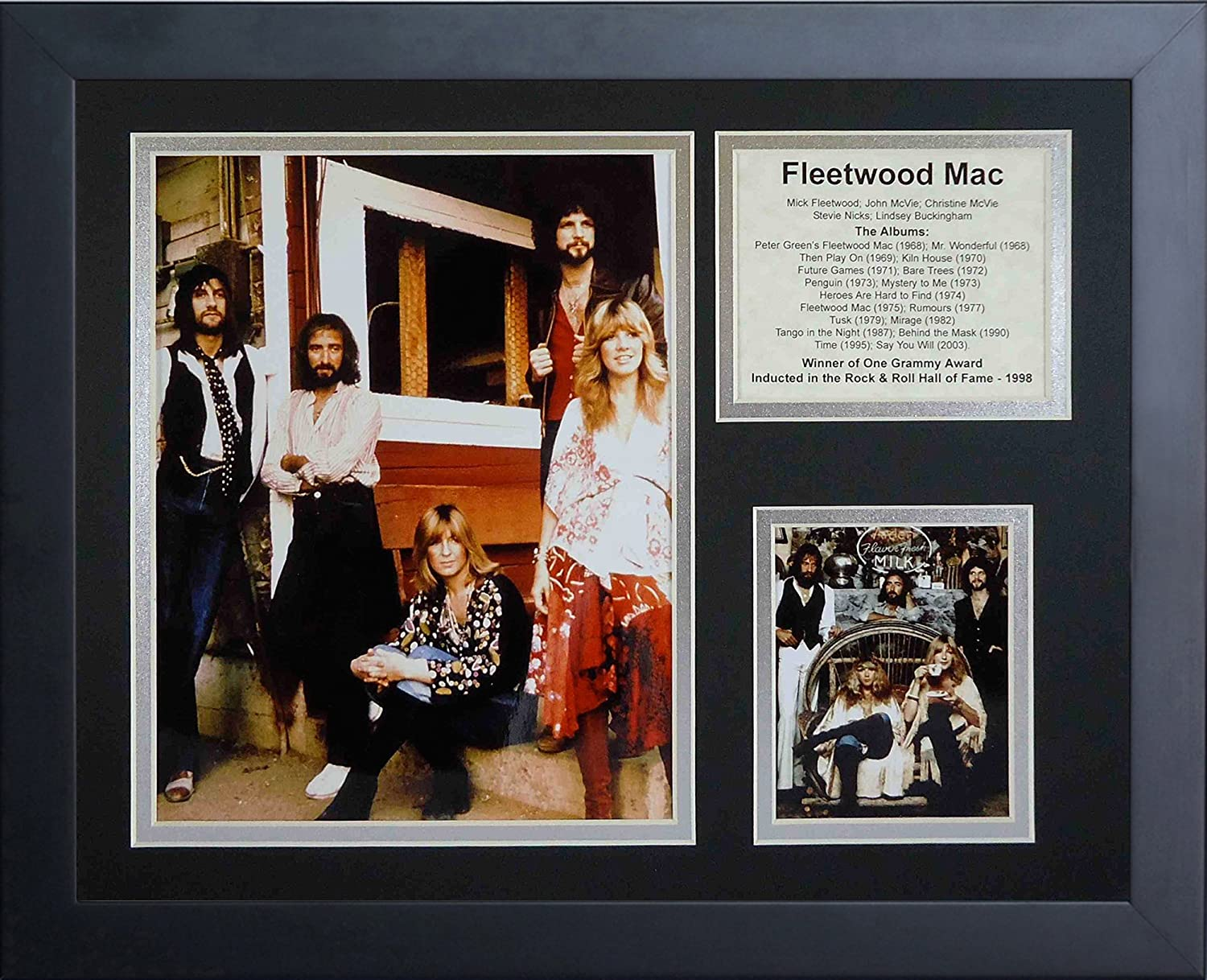 11 x 14-Inch Legends Never Die Fleetwood Mac Framed Photo Collage
