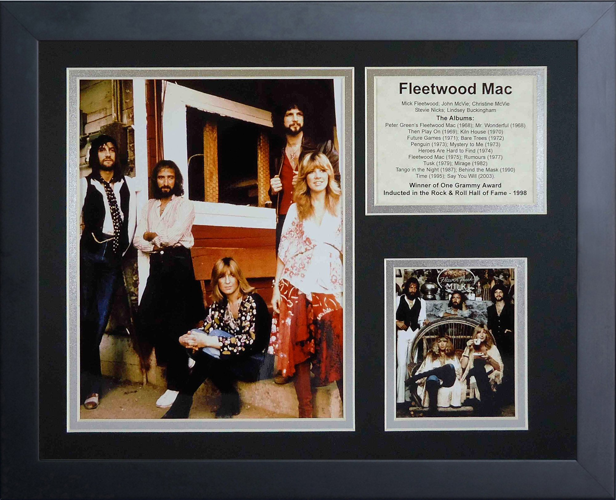 Legends Never Die ''Fleetwood Mac Framed Photo Collage, 11 x 14-Inch by Legends Never Die