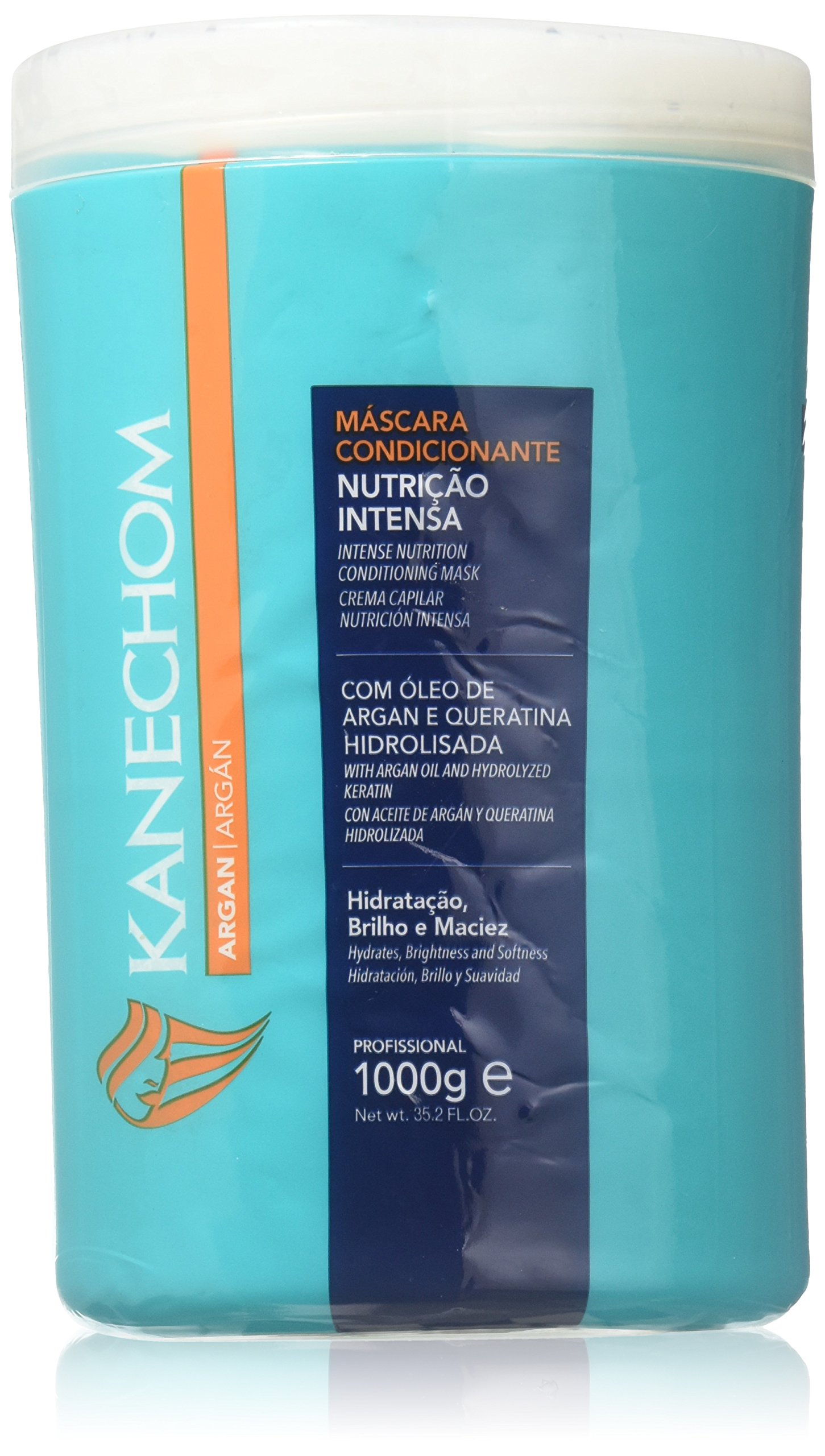 Kanechom Argan Hair Treatment Cream for Damaged Hair 1000g [SEALED]