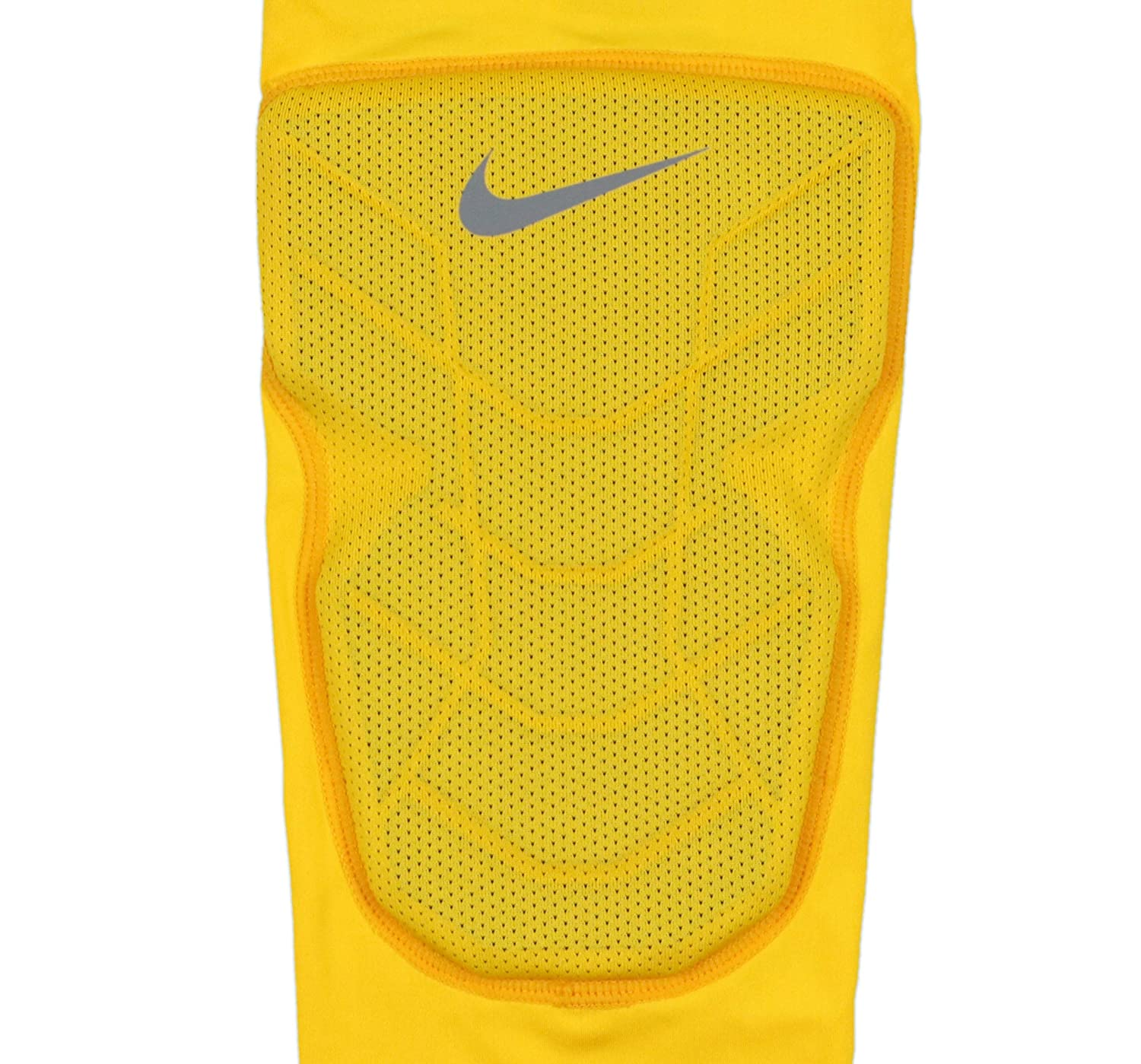 b07a3931 Amazon.com : Nike Men's Pro Combat Hyperstrong Padded Basketball Knee  Sleeve Large Yellow Gray : Sports & Outdoors
