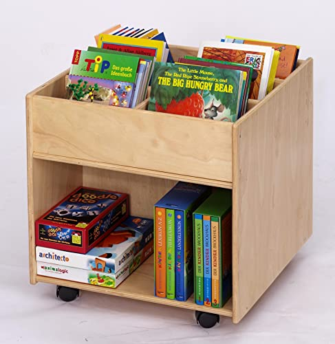 Flexeo – Kinder Bücherbox | Bücherregal Kinder