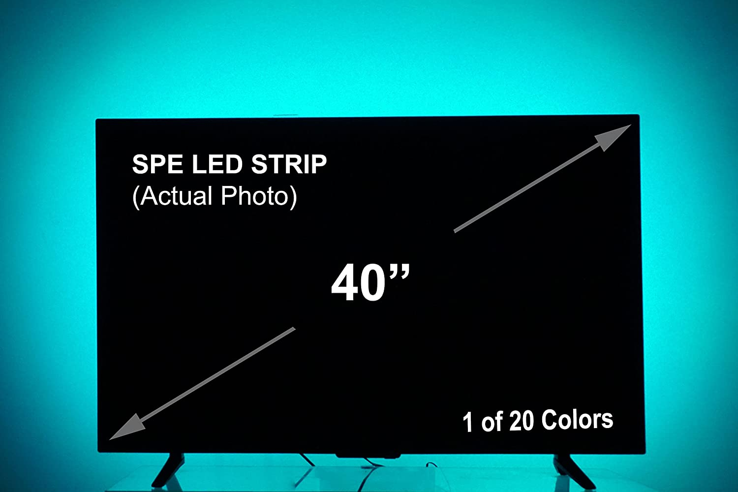 Color lines online strip game - Amazon Com Usb Led Lighting Strip Medium 78in 2m Multi Color Rgb Usb Led Backlight Strip With Dimmer For Bias Lighting Hdtv Flat Screen Tv Lcd