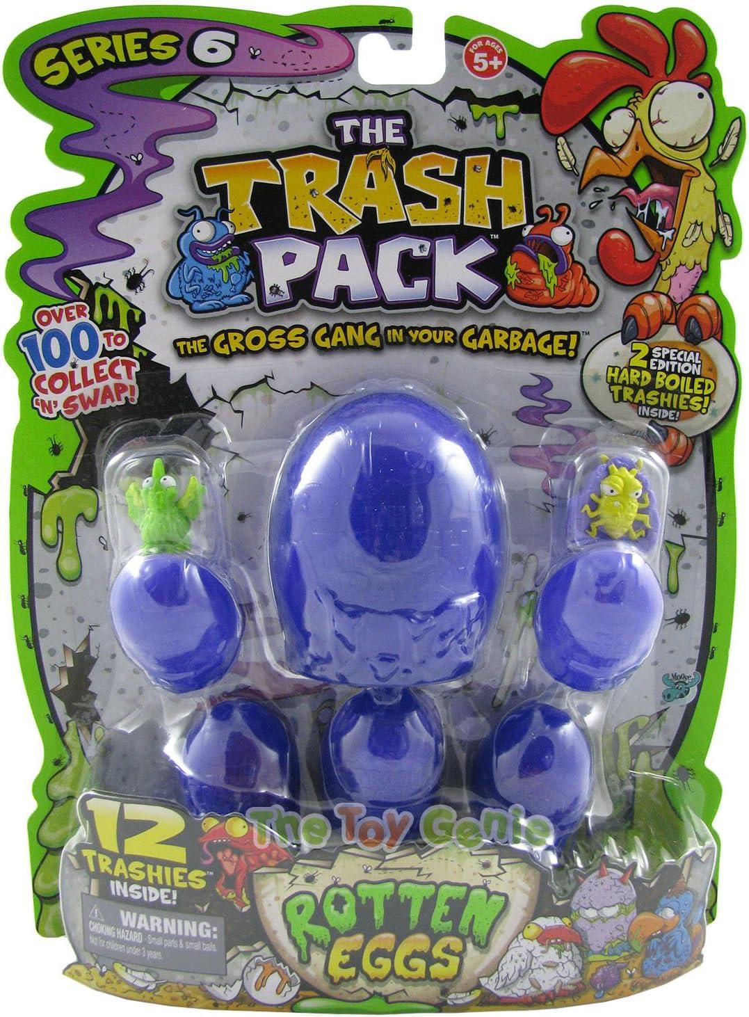 The Trash Pack Series 6 Rotten Eggs: by Moose: Amazon.es: Juguetes y juegos