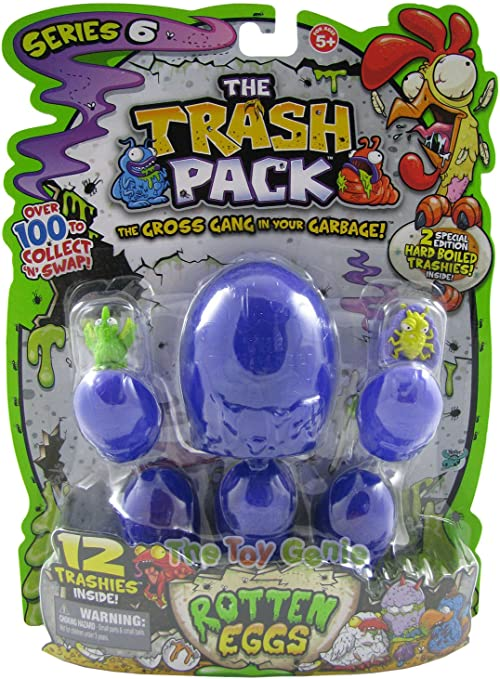 The Trash Pack Series 6 Rotten Eggs: by Moose: Amazon.es: Juguetes ...