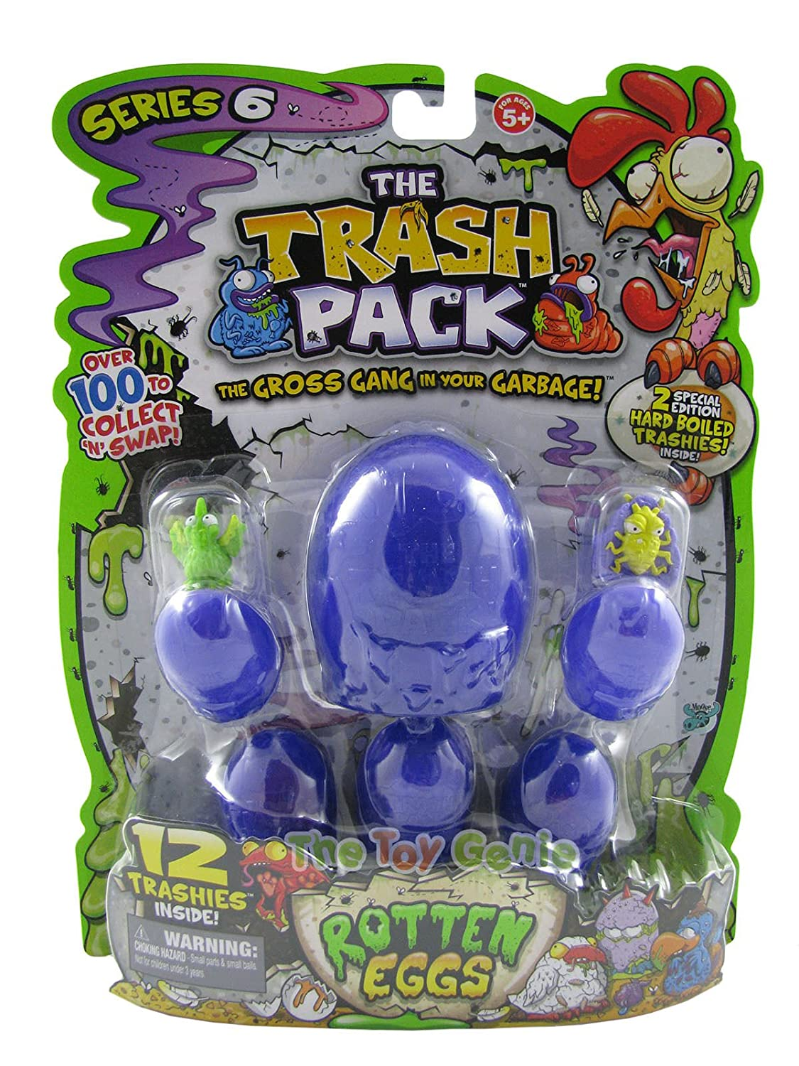 12 Pack Moose The Trash Pack Series 6 Rotten Eggs