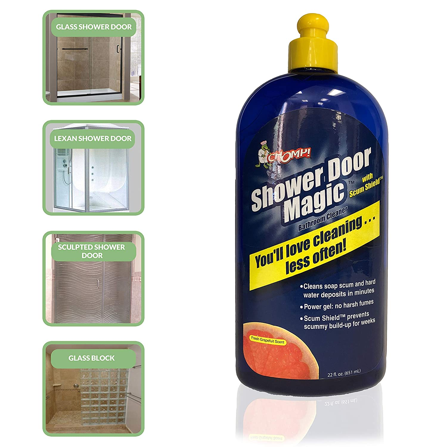 best fiberglass shower cleaners