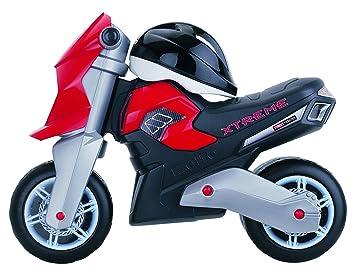 MOLTO Xtreme - Correpassillos Moto Xtreme con casco, color rojo (10242)