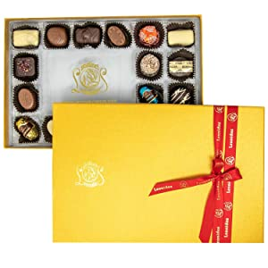 Leonidas Belgian Chocolate Rectangular Gift Box – 18 pcs. – Belgium Assorted Chocolate Rectangular Box Gourmet Gift