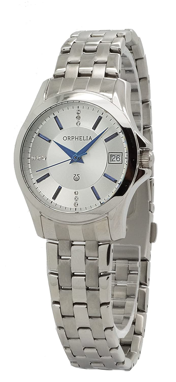 ORPHELIA Damen-Armbanduhr Analog Quarz Edelstahl 153-2714-88