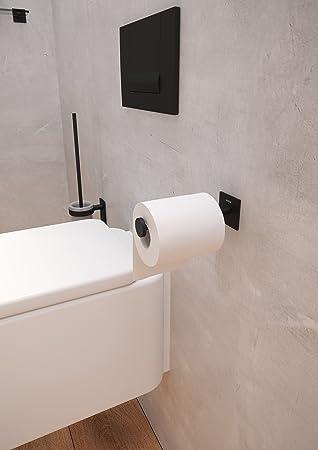Bath+ By Cosmic Stick Portapapel Sin Tapa Metal, Negro-Mate: Amazon.es: Bricolaje y herramientas