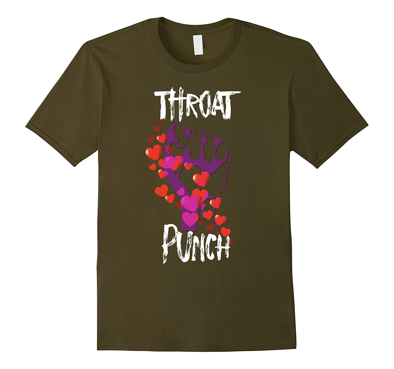 Throat Punch Tee Shirt, Throat Punch Thursday, Throat Punch-RT