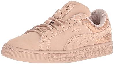 PUMA Women s Suede LUNALUX WN s Sneaker Cream tan ... fece6087c