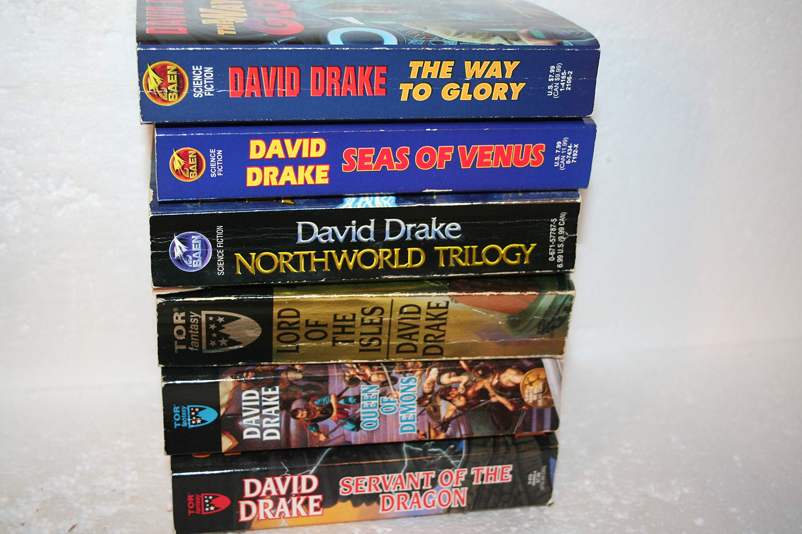 David Drake 6 books, 9 titles: David Drake: Amazon.com: Books