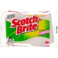 Scotch-Brite Cookware light duty scrub/sponge, Pink 435