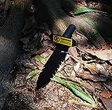 """MocDoo 12"""" Serrated Edge Carbon Steel Spade"""