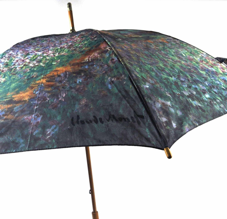 モネの庭散歩傘 B00G44OLTC
