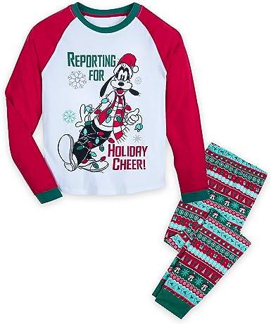 Disney Goofy Holiday Pijama para Hombre Multi