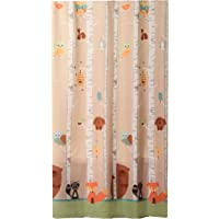 Saturday Knight Limited Forest Friends 70€ x 72€ Fabric Shower Curtain Unisex Kids Bathroom Décor Woods