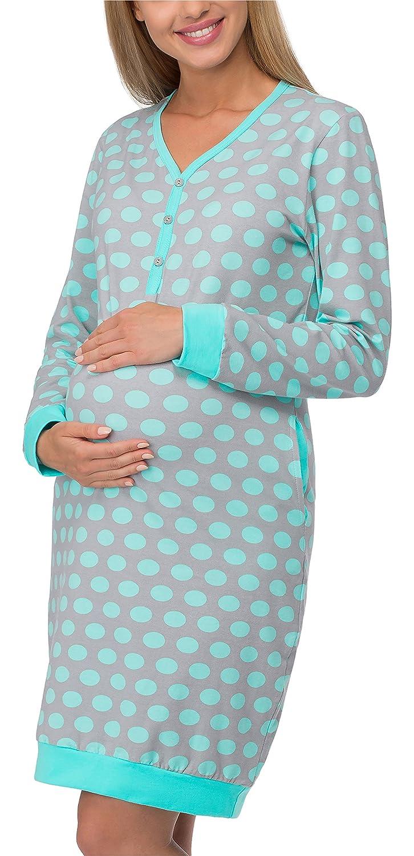 Cornette Maternity Nightdress Breastfeeding Nightshirt Nightgown 606
