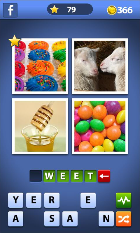 Amazon.com: 4 pics 1 word, Word Guess With Angry Gran, (Kindle ...