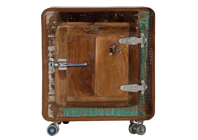SIT-Möbel 2659-98 Fridge 2659-98 SIT-Möbel Nachttisch, recyceltes Altholz, bunt lackiert 0dabd7