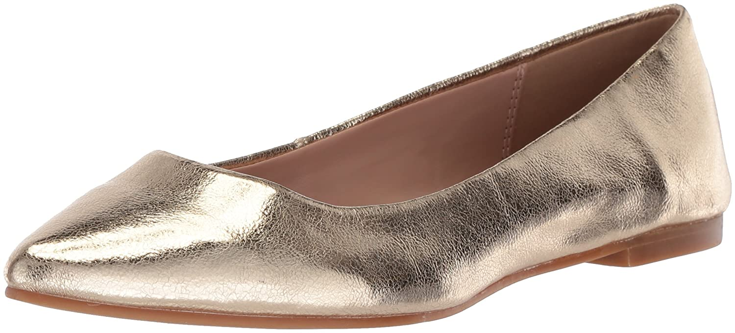 BCBG Generation Women's Millie Ballet Flat B076ZZC2NM 6 B(M) US|Gold