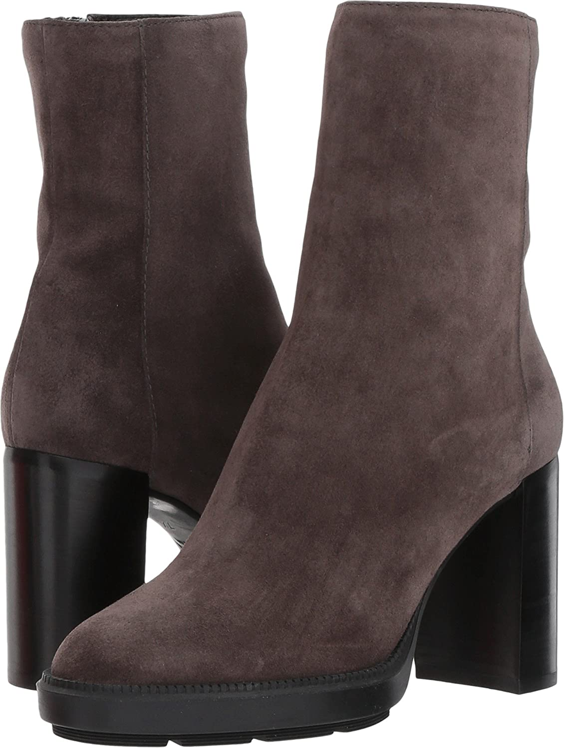 Aquatalia Women's Isla Calf Ankle Boot B075NRCBHL 7 B(M) US|Dark Grey Suede