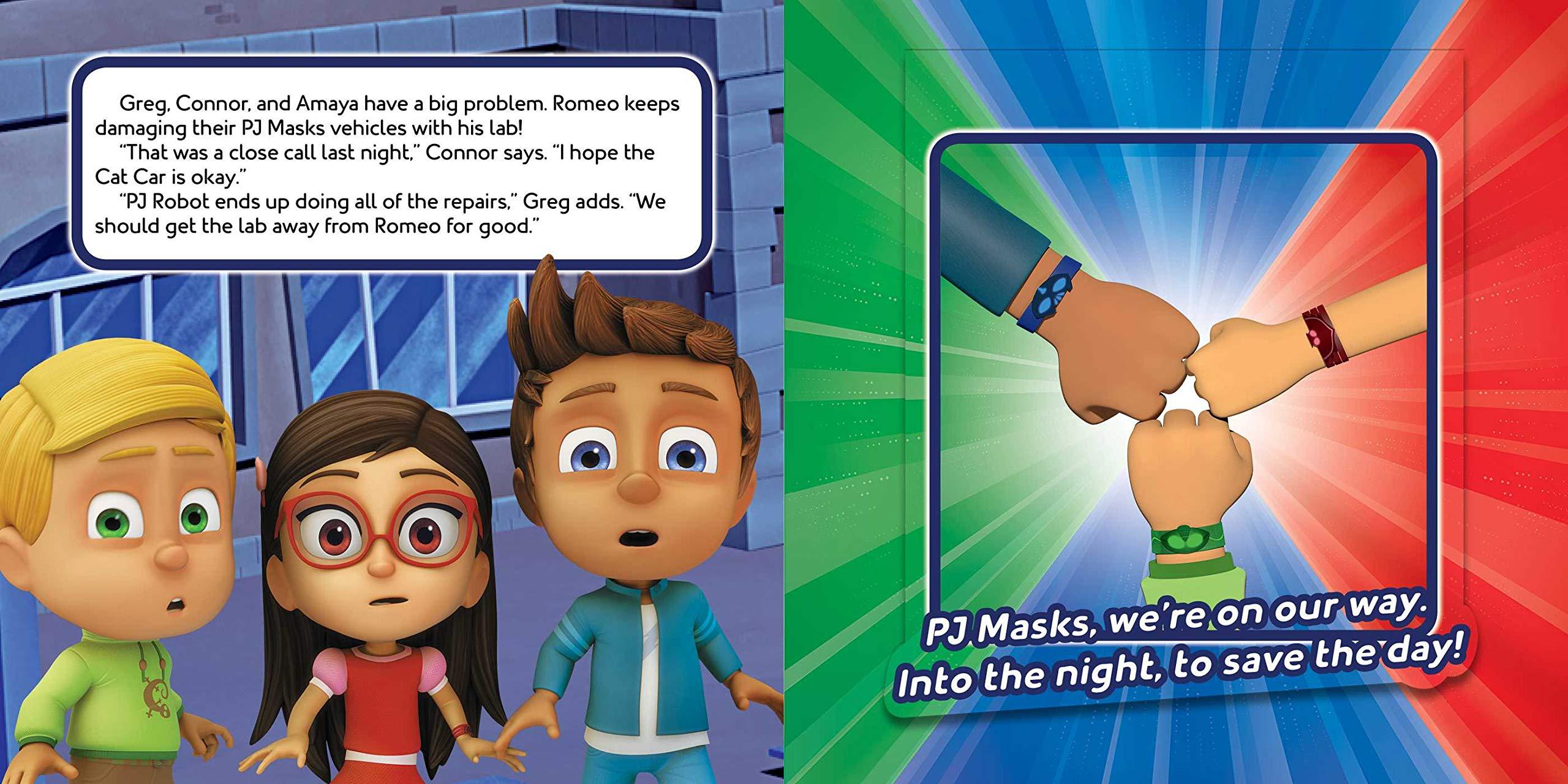 PJ Seeker to the Rescue!: A Lift-The-Flap Adventure (PJ Masks ...