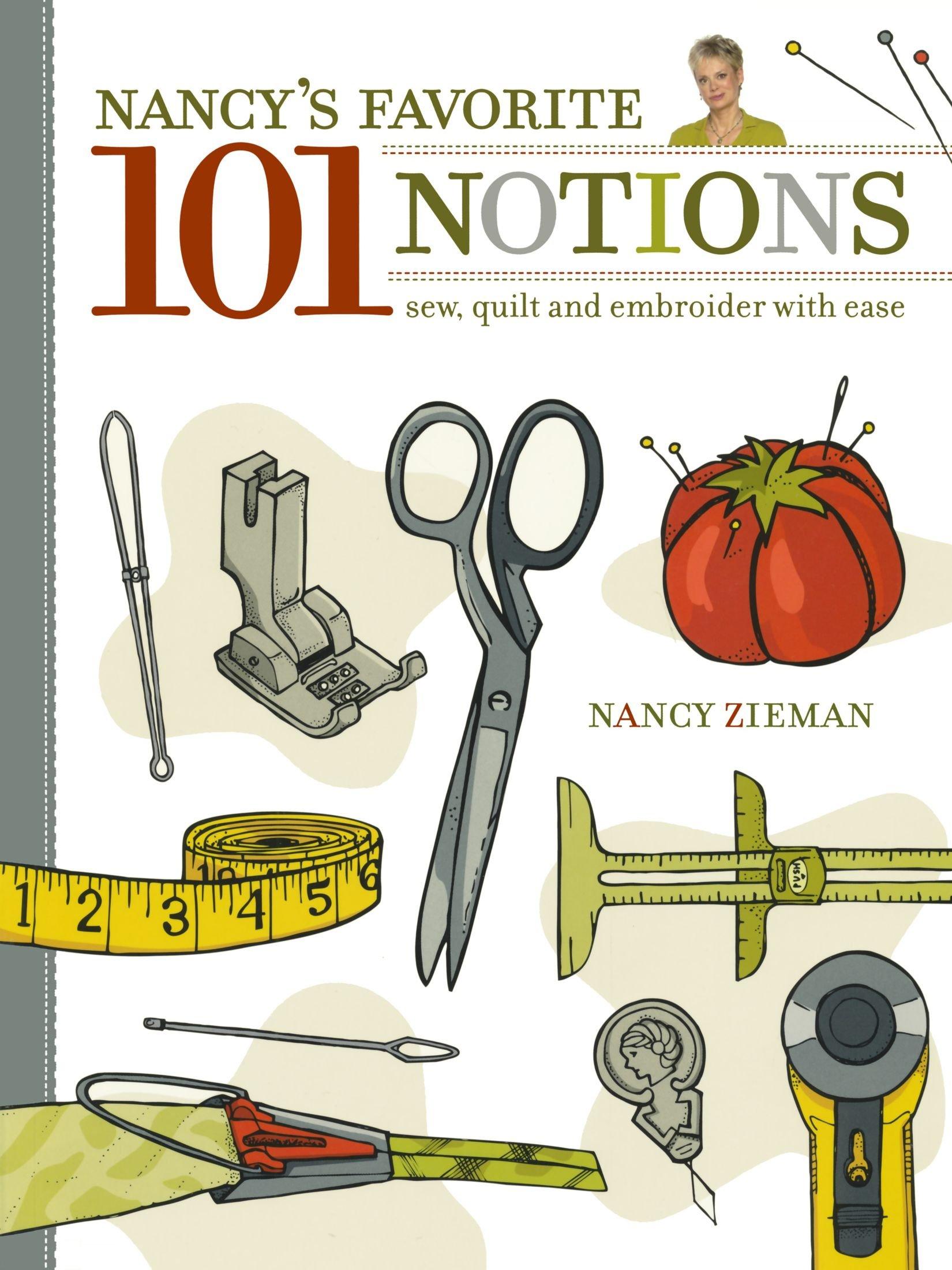 Nancy's Favorite 101 Notions Book Z3765