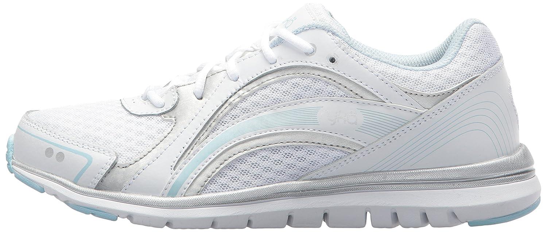 Ryka Women's Aries Walking Shoe B075MKPWGM 9 B(M) US|White/Blue
