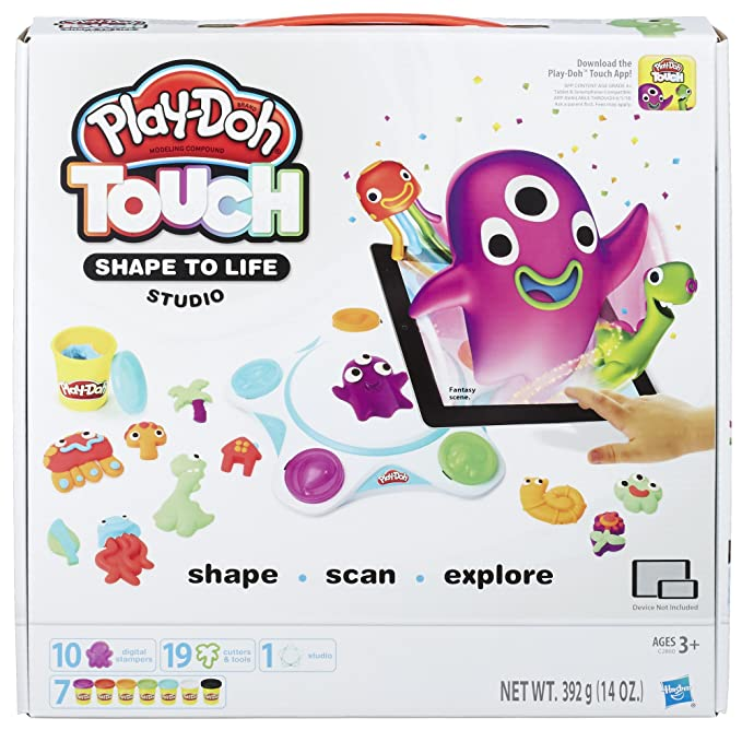 Play-Doh Touch Shape to Life Studio Clay & Dough at amazon
