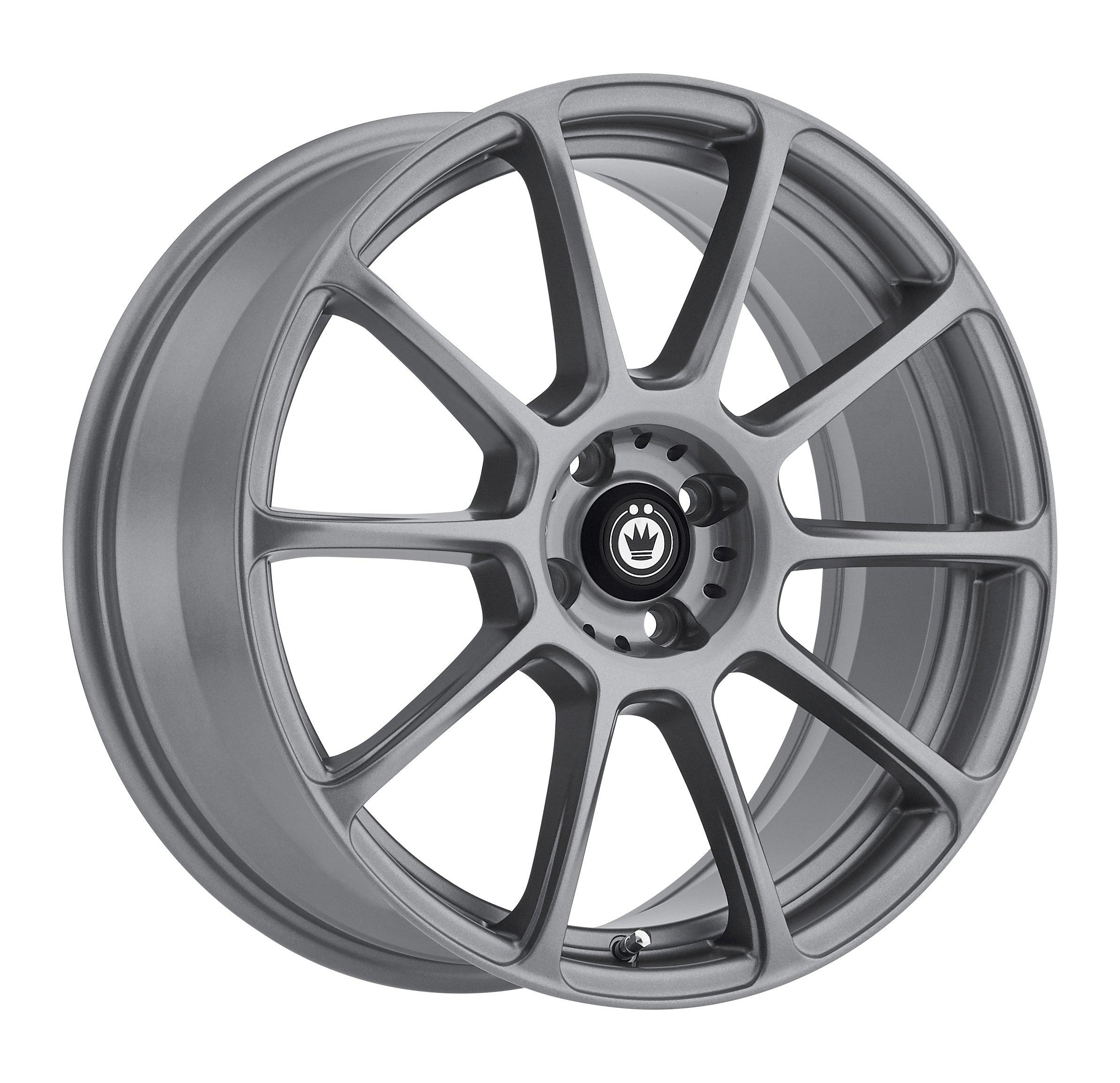 Konig RUNLITE Matte Grey Wheel (17x7.5''/4x100mm, +45mm offset)