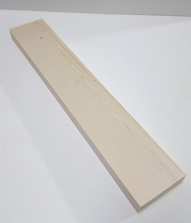3x8x10cm lang. 8cm breit 1 St/ück 3cm starke Holzleisten Kanth/ölzer Bretter Fichte//Tanne massiv Sonderma/ße