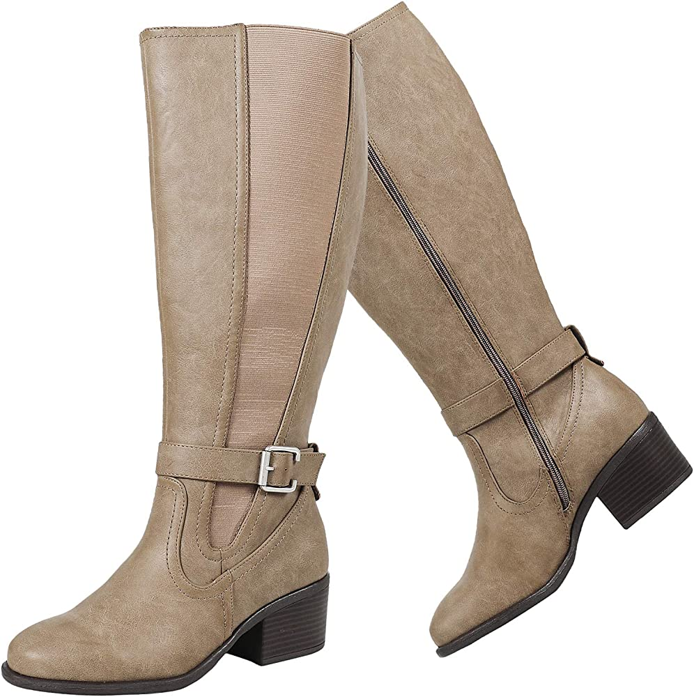 Knee High Boots Wide Width