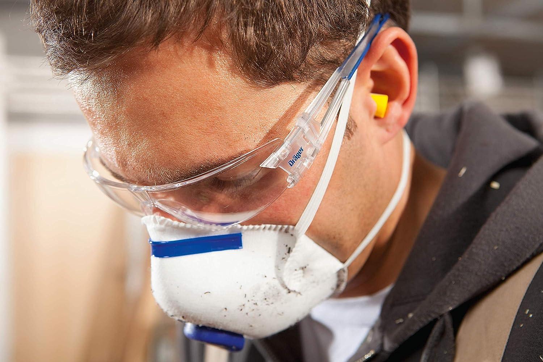 Gafas de seguridad para ambientes de alto voltaje. Patillas flexibles y ajustables.