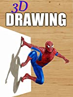 Time Lapse 3D Drawing of Spider-Man
